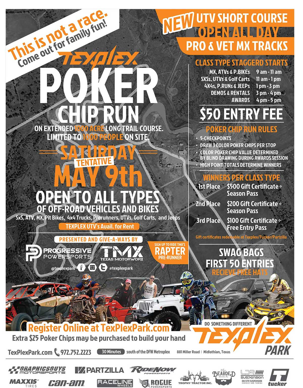 TexPlex PokerChip Run