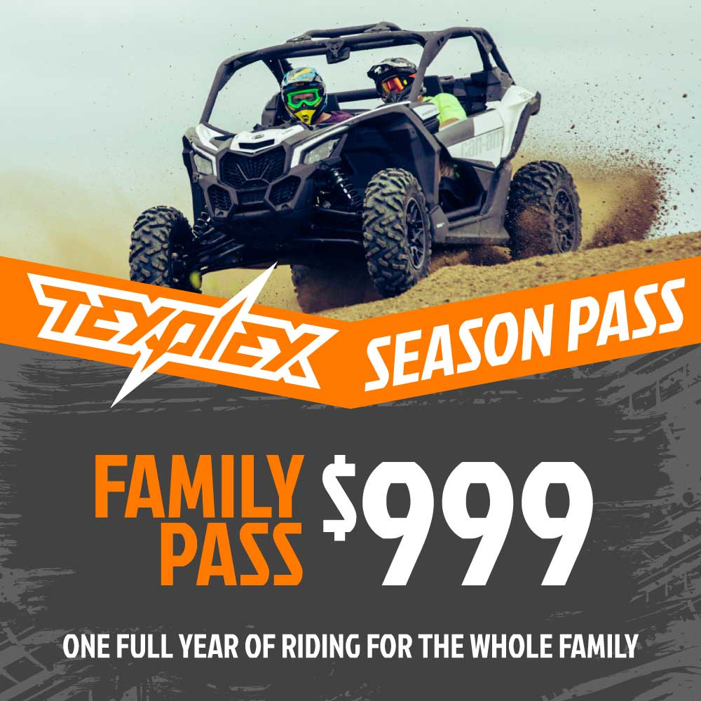 Texplex Park Season Pass Family Pass