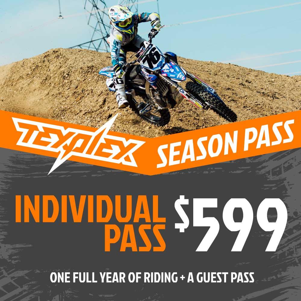 Texplex Park Season Pass Individual