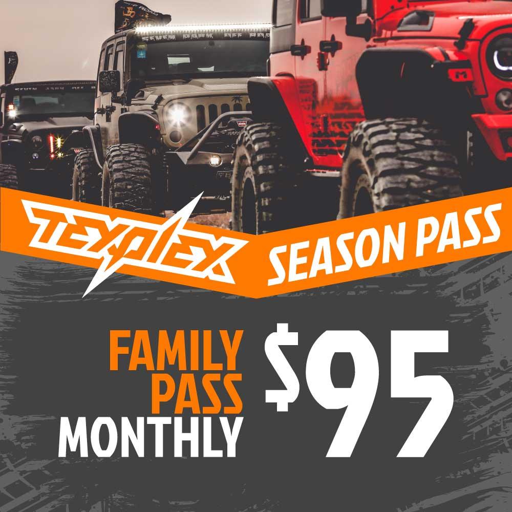 TexPlex Park Monthly Passes