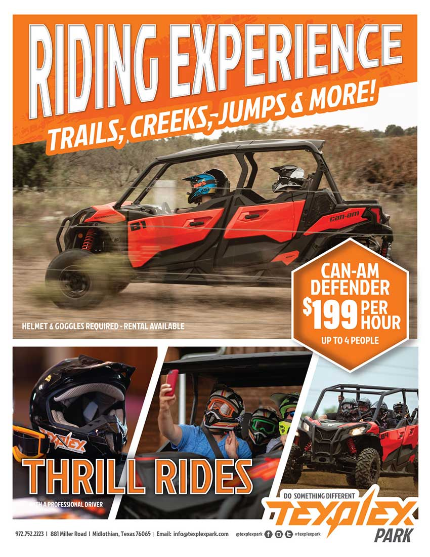 Texplex Park Riding Experience And Rentals